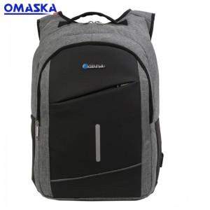 Canton Fair OMASKA waterproof business men usb laptop nylon fabric backpack Featured Image