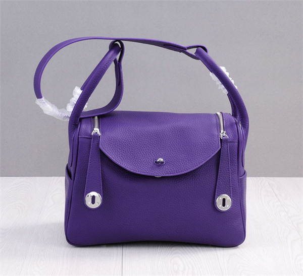 Lychee Cowhide Leather Women Gorgeous Brand Handbags Lindy Bag