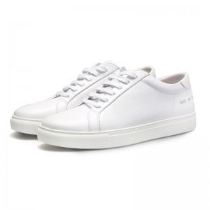 White Men Genuine leather Brand Design Casual Shoes