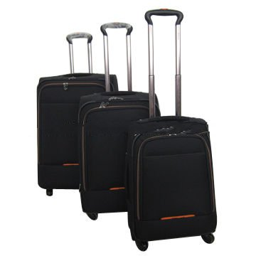 Airport trolley luggage set