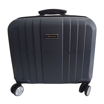 14-inch ABS computer trolley suitcase with laptop pocket