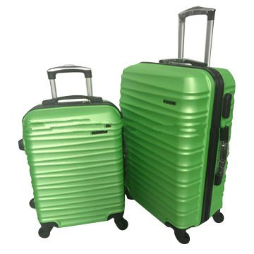 ABS zipper luggage case with universal wheels