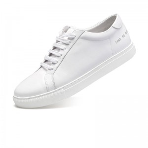 Sheepskin lining Lace Up Shoes for Both Women and Men size 35 to 46 white color