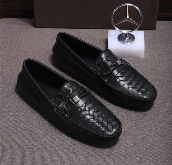 Custom Made Men Driving Shoes Customized Size Slip-On Shoes Sheepskin