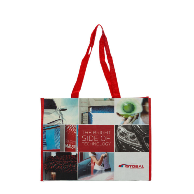 Wholesale lamination printing shopping Bags Tote Non Woven Grocery Shopping Bag