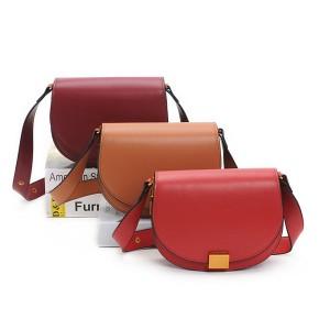 Designer Saddle Bags Handbags With With Long Wide Shoulder Strap