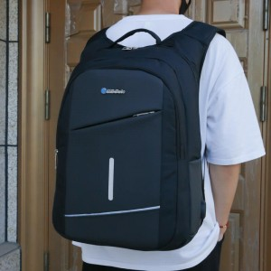 Canton Fair OMASKA waterproof business men usb laptop nylon fabric backpack