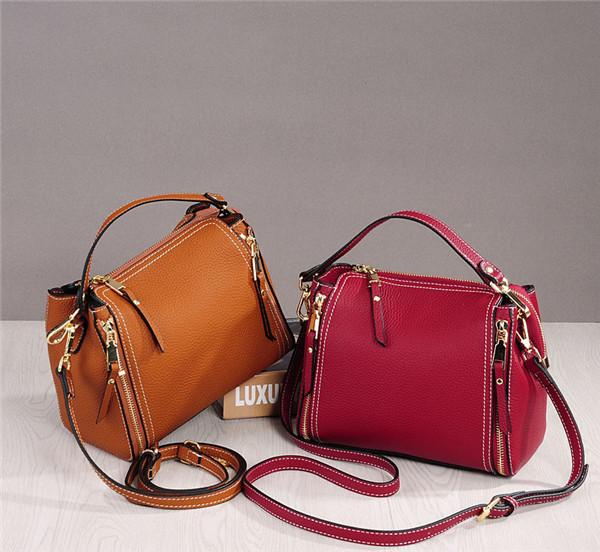 High Quality Women Italian Leather Shoulder Bag