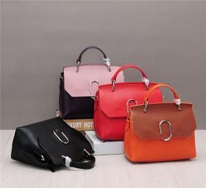 High Quality Cowhide Leather Bags Handbag Ladies