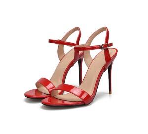 High Heel Stiletto Fashion Sandals For Women Red