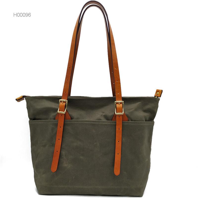 High Quality PU Custom leather bags women handbags