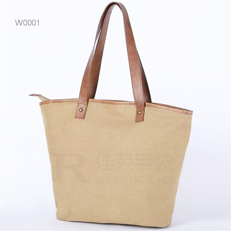 Simple Lunch Bag Women Canvas Tote bag Mummy handbag