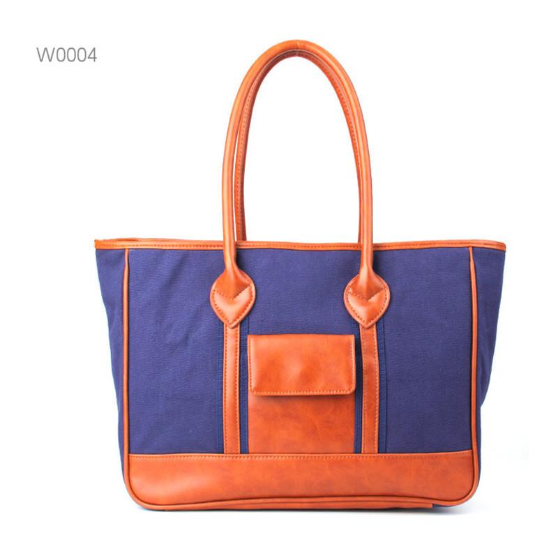 High Capacity Shopping Beach Folding Reusable Women canvas Tote bag