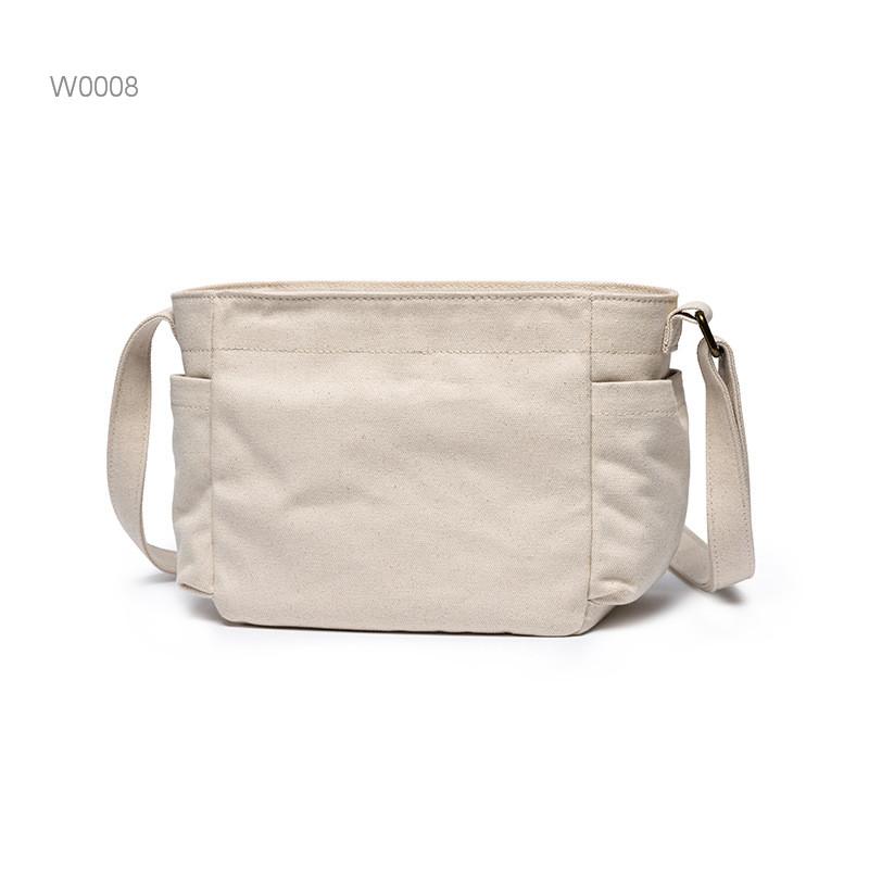 Canvas shopping bag women shoulder tote bag
