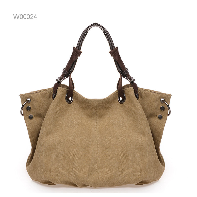 new products canvas women bag wholesale ladies handbags online shopping tote bag