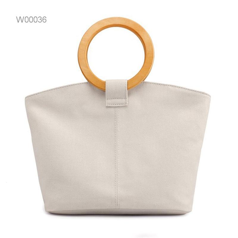 Custom logo women teacher canvas tote bag Featured Image