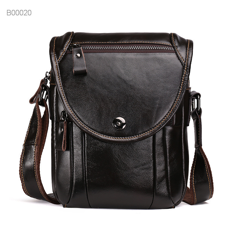 New style men leather tote bag briefcase handbag for business