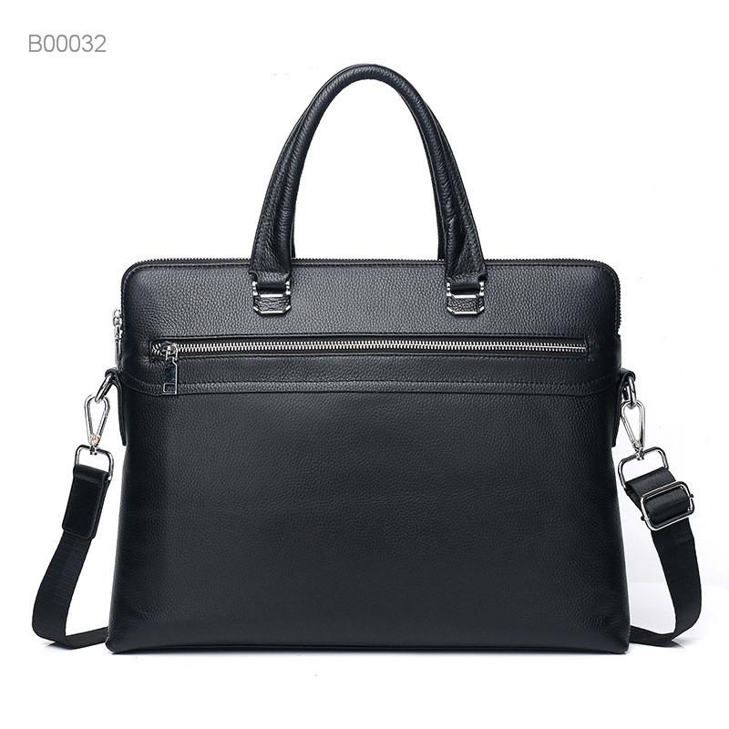 Custom Leather Men's Briefcase Bag Messenger Bag