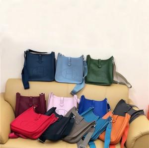 High Quality Designer Bags Handbags Women Togo Leather Bucket Bags Factory