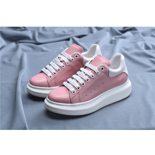 Women White Platform Casual Sneakers With Black Outsole