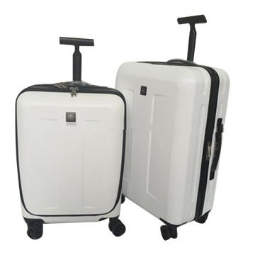 ABS hard luggage bag with computer pocket