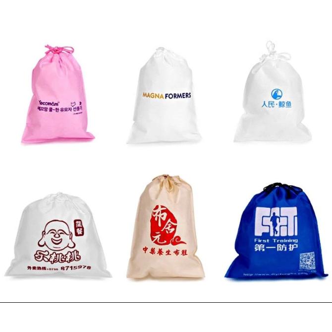 Custom Non-Woven Drawstring Bag / Non Woven Drawstring Bag
