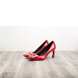 Dropship Red Patent Leather ladies Heels