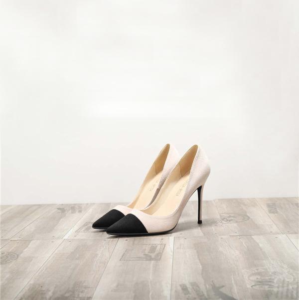 Dropship Women Suede Shoes Heels