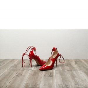 Drop-ship In Store Red Patent Leather women High Heel Shoes