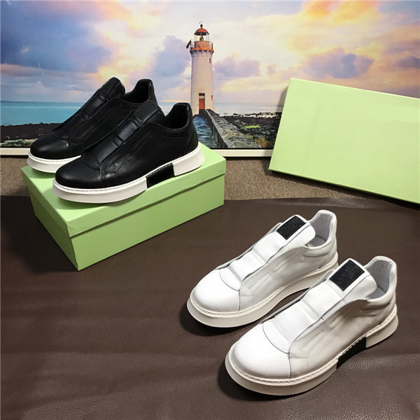 OEM Made Fashion Leather Trainers Mens Gym Shoes Supplier