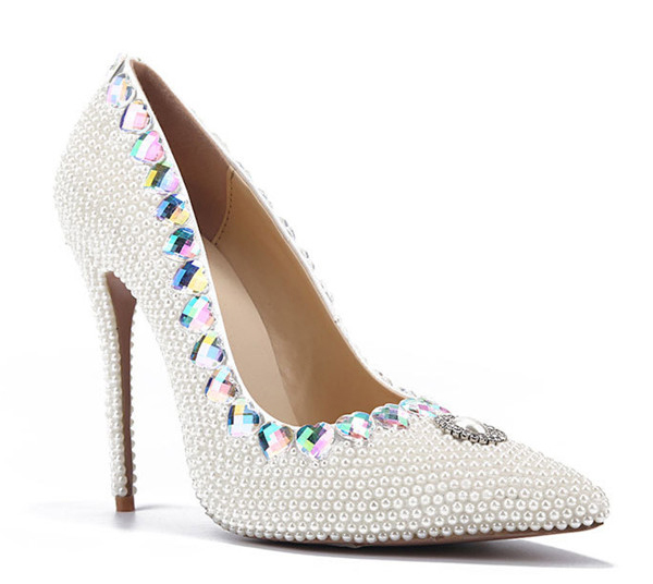 Lady Fashion Pointed Dress Shoes