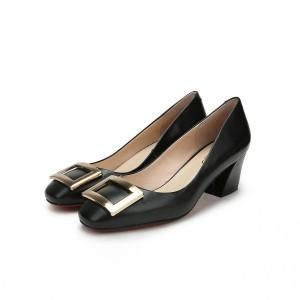 Nice Quality Women Round Toe Sheepskin Shoes Designer