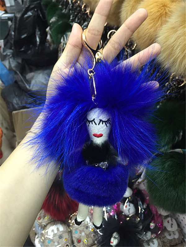 Pony Hanging Accessory Fashion Leather Accessory Women Accessory For Bags