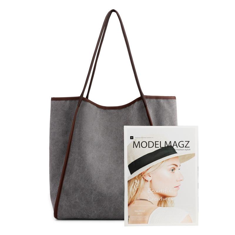 custom women large utility tote bag canvas bag
