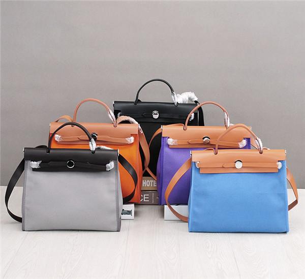 Classic Handbag Genuine Italian Leather Handbag For Women Handbag Logo Labels