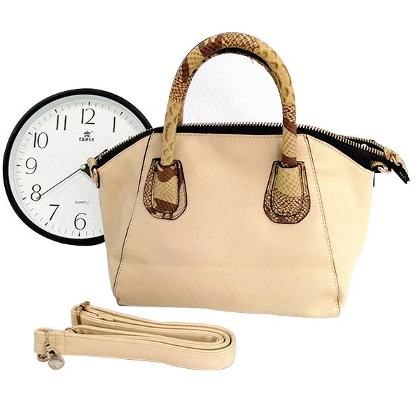 New women's bag frosted leather European and American fashion OL professional handbag shoulder Messenger bag