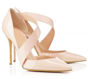Hot Sale Women Rude Patent Leather Sandals With Strap