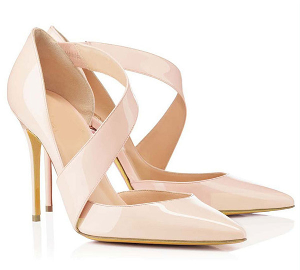 Hot Sale Women Rude Patent Leather Sandals With Strap Featured Image