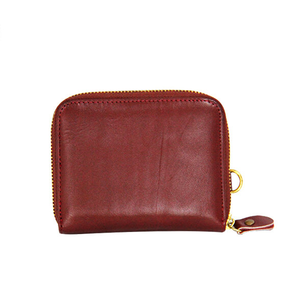 Best selling wallet ladies mobile phone bag leather handbag first layer leather retro red wallet