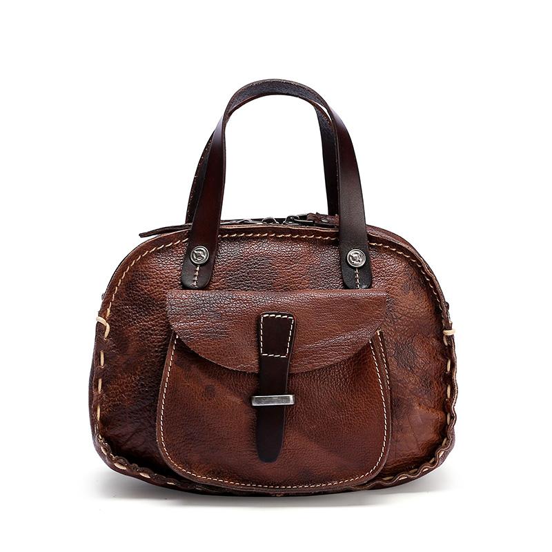 Genuine Leather Handbag for women, Lady handbag.
