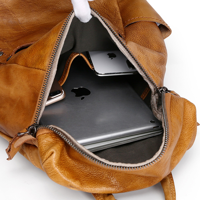 Fashion Leather Lady Backpack, Travel Backpack for women.