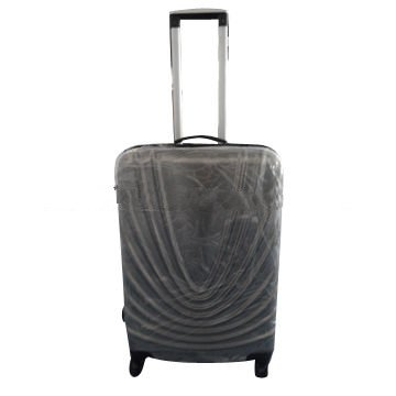 ABS PC travel luggage bag with trolley