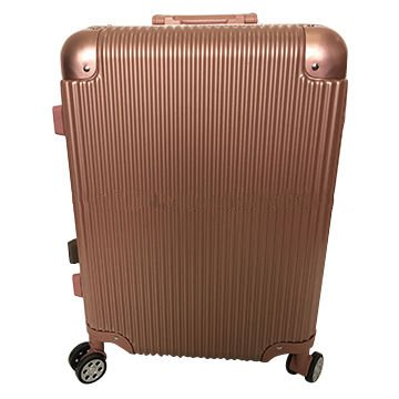 ABS PC trolley luggage with aluminium frame Featured Image