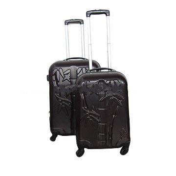 2pcs set ABS travel luggage