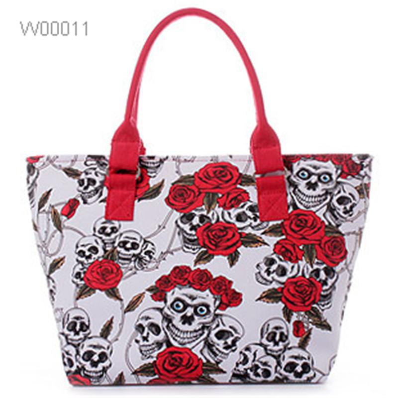 High Quality Fashion Lady Canvas Handbags Tote Bags Women Bag