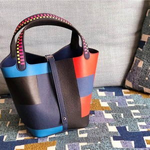 High Quality Mix -color Litchi Calfskin Bucket Bags from Bags Factory