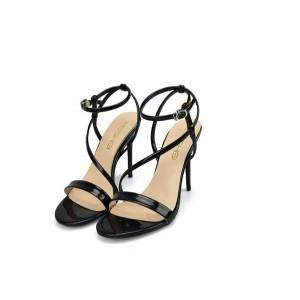 Black Women High Heels Sandals