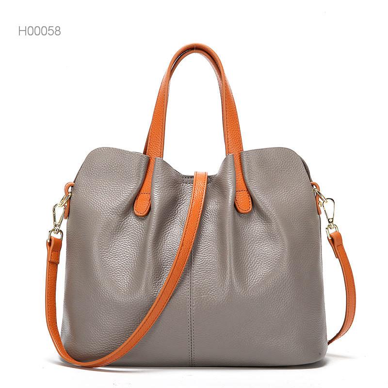 Fashion PU leather tote shoulder bags women handbags ladies