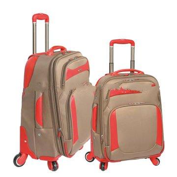ABS/EVA 2pcs soft suitcase