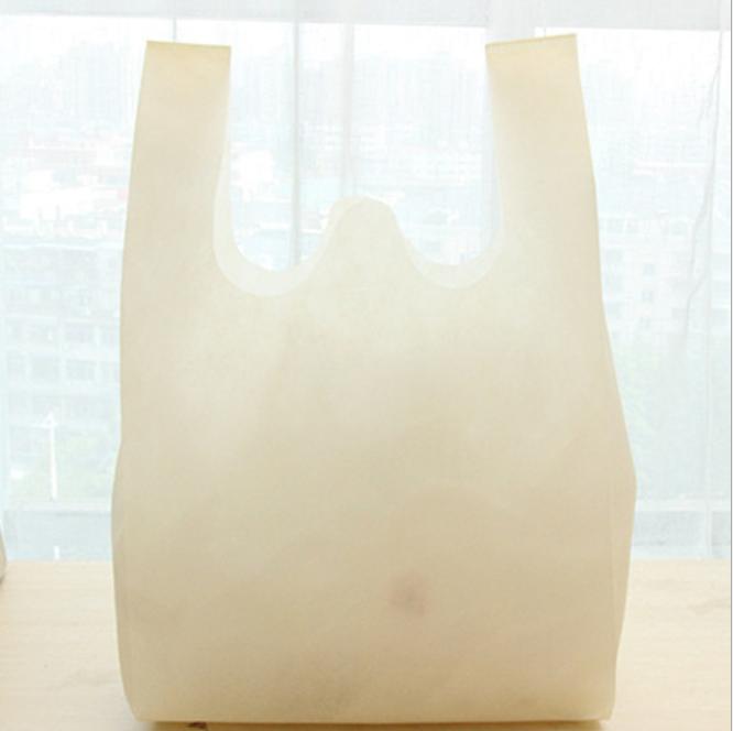 40g 50g 60g Nonwoven Bag( T-Shirt /W-Cut/U-Cut/Vest) Non Woven T-Shirt Bag